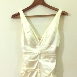 Cache Dresses - Cream colored short formal dress